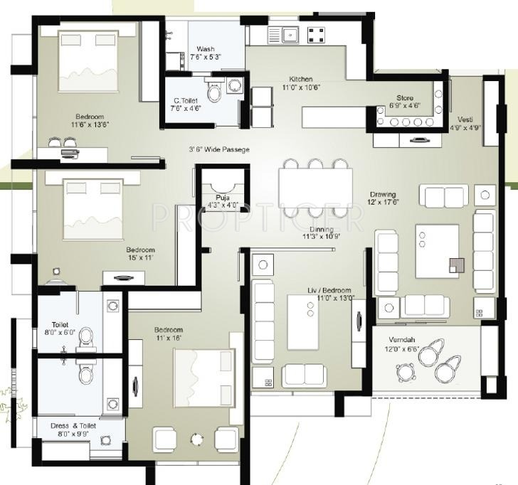 2700 sq ft 3 bhk 3t apartment for sale in sambhav for 2700 square foot house cost