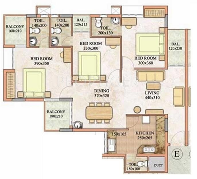 1435 sq ft 3 bhk 4t apartment for sale in travancore for 12th floor apartments