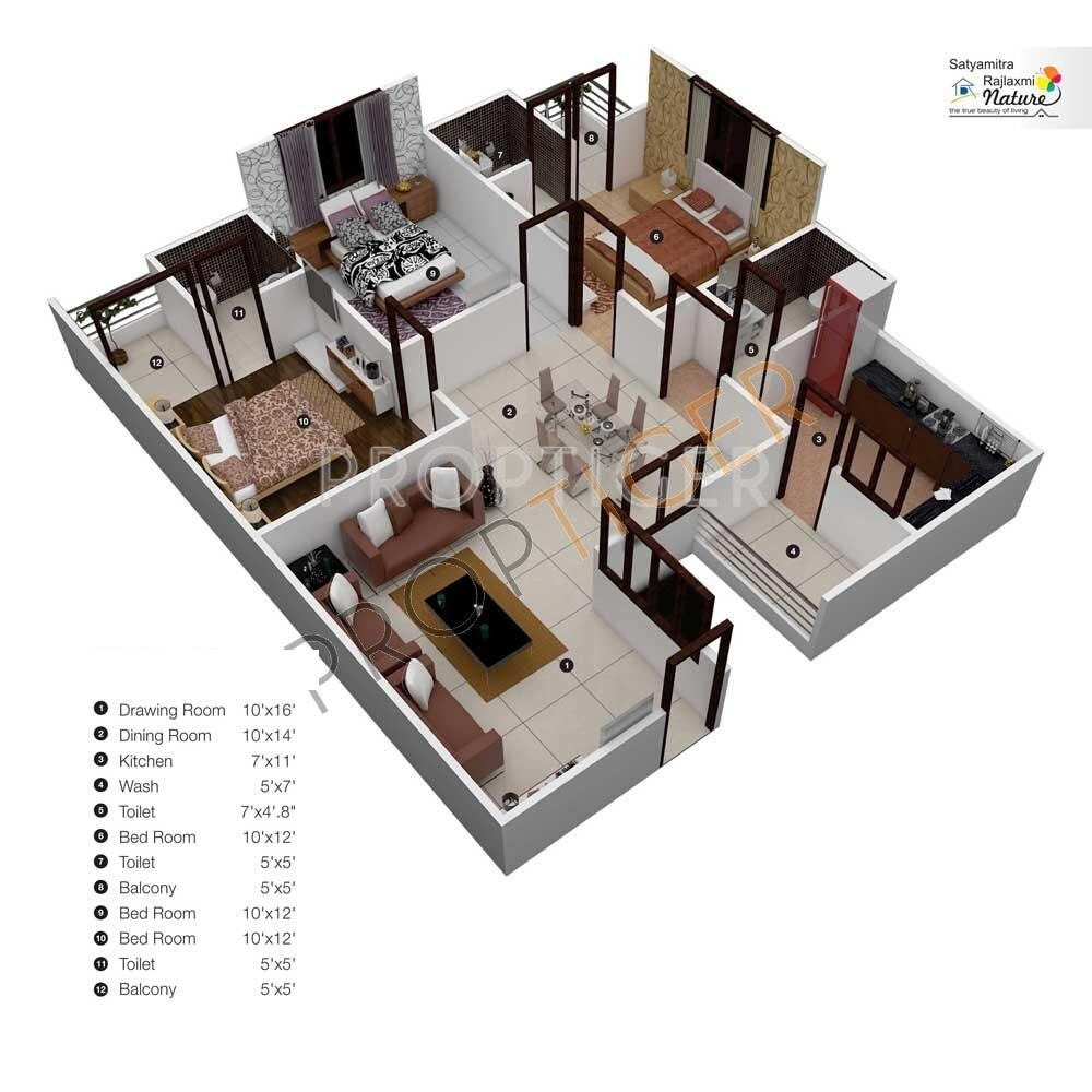 1400 sq ft 3 bhk 3t apartment for sale in rajlaxmi for 1400 sq ft floor plans