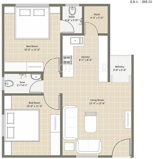 Earth casa residency by earth realty group in kalali for X2 residency floor plan