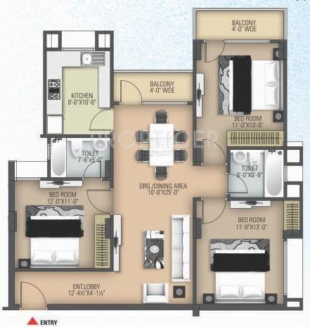 Anukampa Platina In Sanganer Jaipur Price Location Map Floor Plan Reviews Proptiger Com
