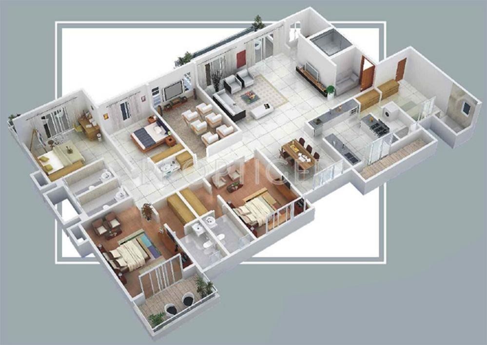 5000 sq ft 4 bhk 5t apartment for sale in anmol nayantara for 5000 sq ft modular homes