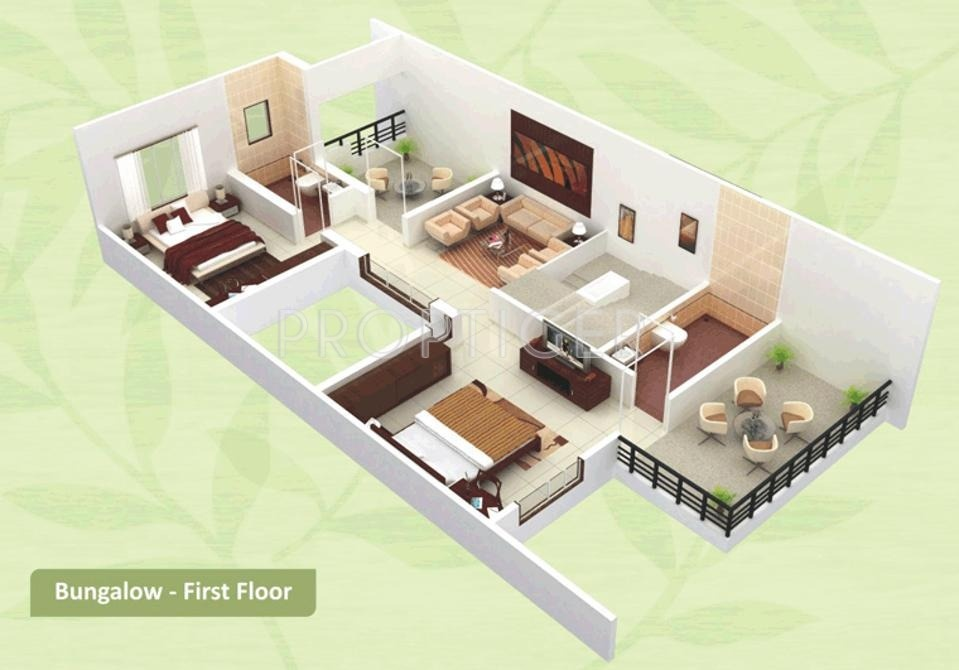 2500 sq ft 3 bhk 3t villa for sale in arihant for 2500 square foot modular homes
