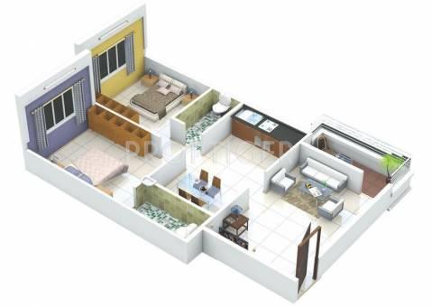 Shreeji groups aastha in indira nagar nashik price for 900 sq ft apartment floor plan