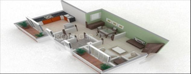 375 sq ft 1 bhk 1t apartment for sale in vmc vrindavan complex shahapur mumbai