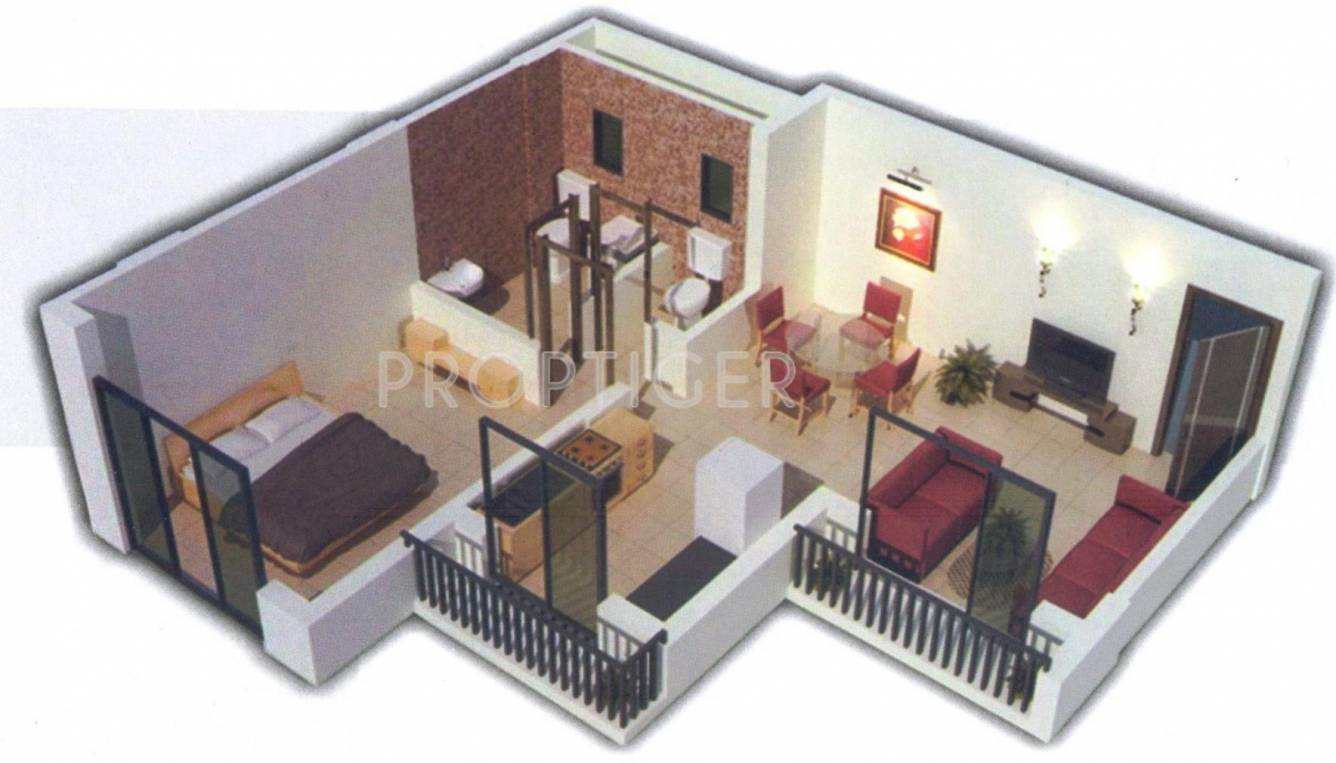 650 sq ft 1 bhk 1t apartment for sale in neo infracon for 650 square feet floor plan