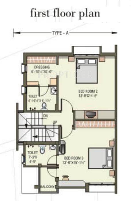 3 bhk 3t villa for sale in shreenath group shreenath for X2 residency floor plan
