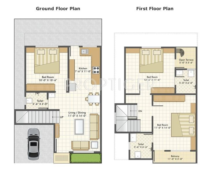 3 Bhk Floor Plan 1200 Sq Ft