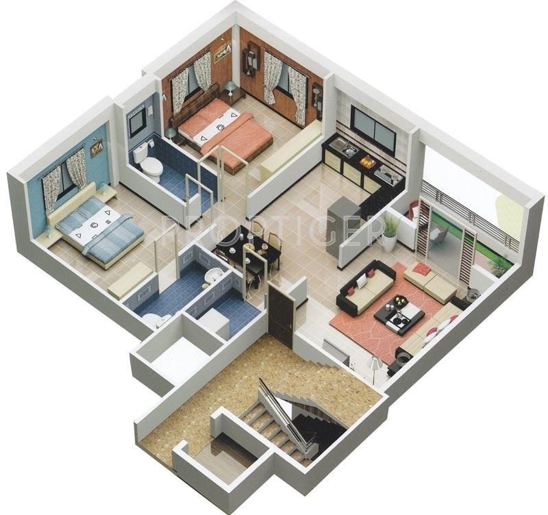 Trimurti saptashrungi lila in kamatwade nashik price for 2000 square foot modular home cost