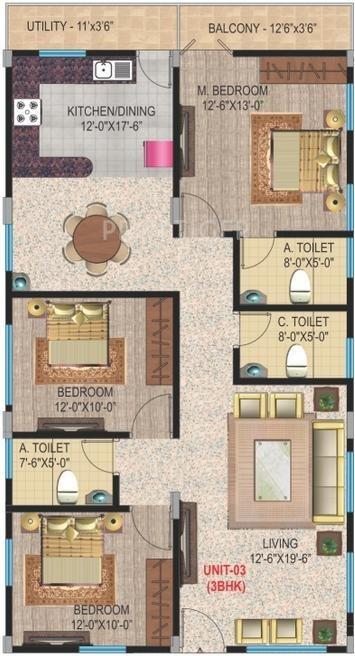 Amigo casa in ramamurthy nagar bangalore price for Casa floor