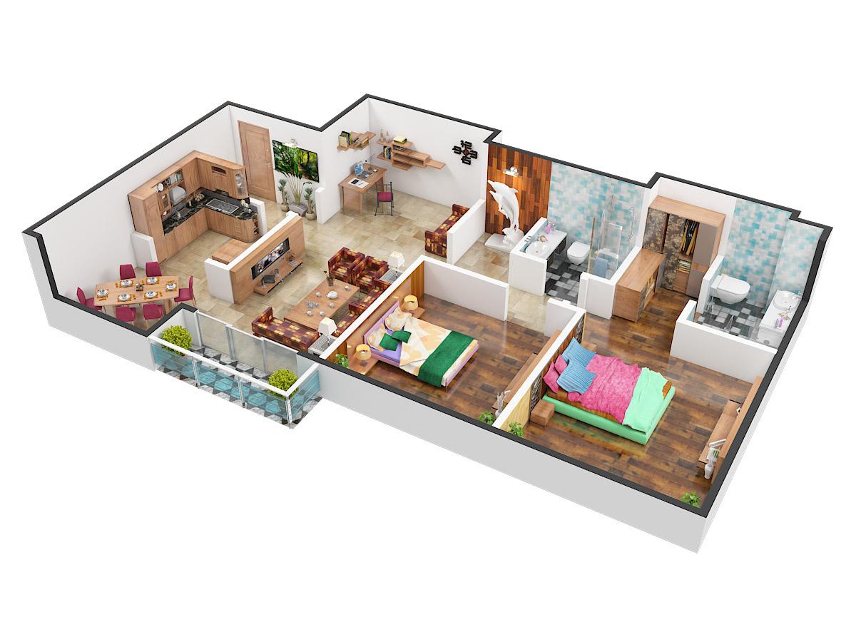 Bedroom Floor Tiles India