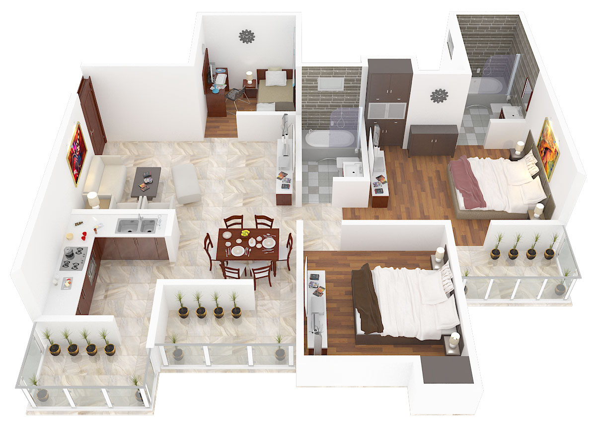 1200 sq ft 2 bhk 2t apartment for sale in amrapali golf for Interior designs 2bhk flat