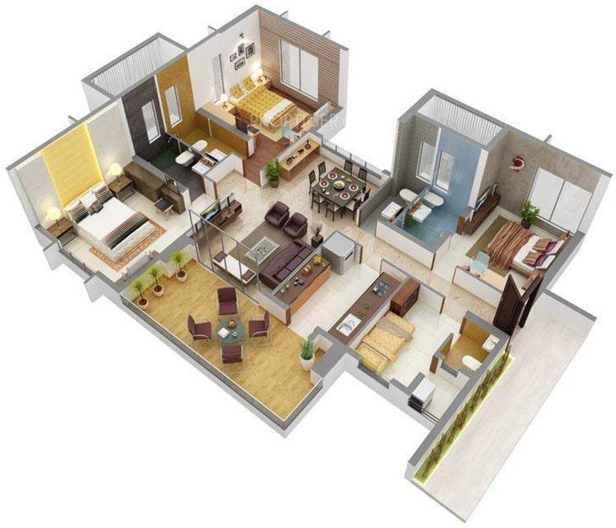 Home Design 3d Free Reviews: Pittie Kourtyard In Wadgaon Sheri, Pune
