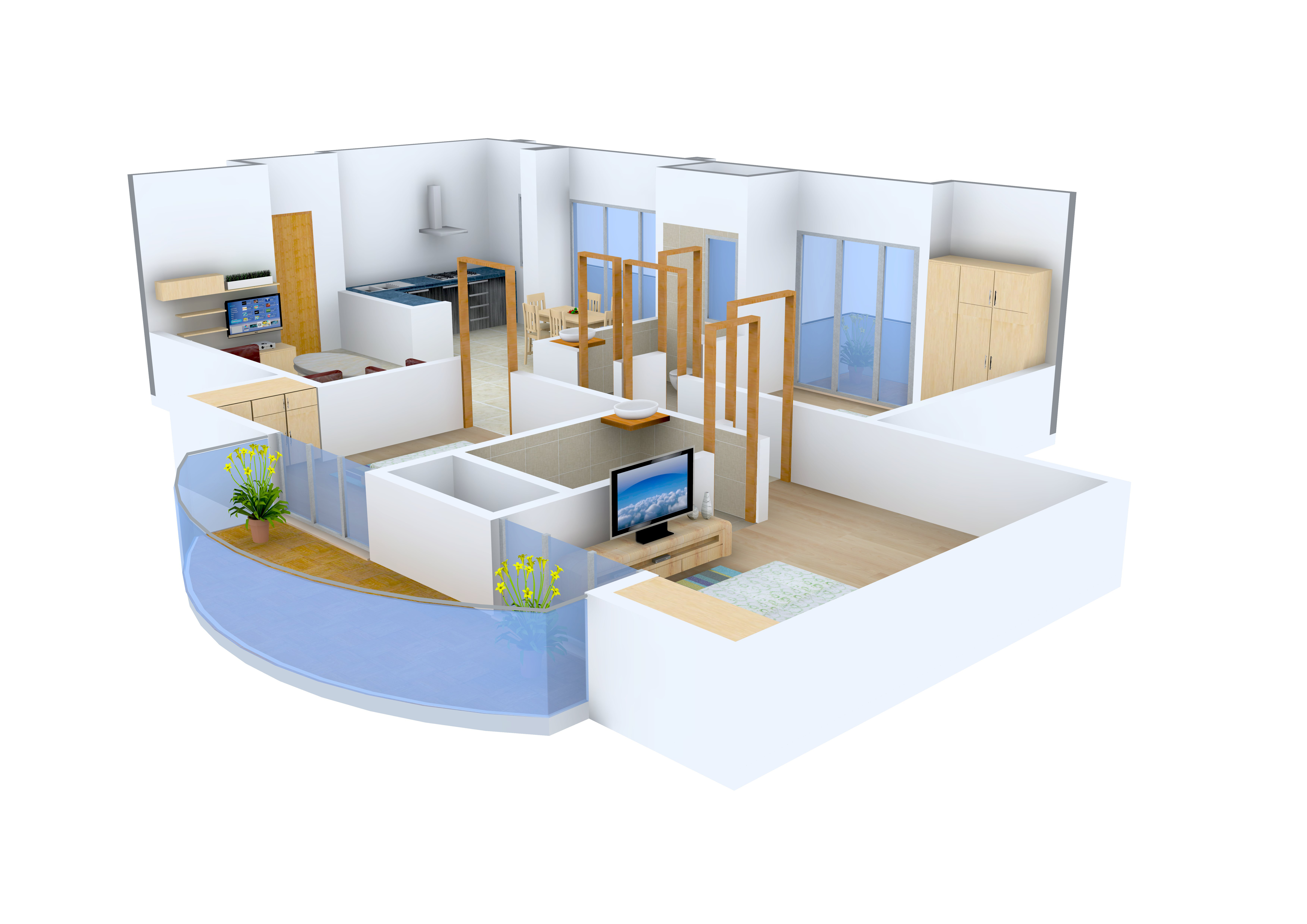 1 BHK Flats, Apartments and other Properties for Sale in ...