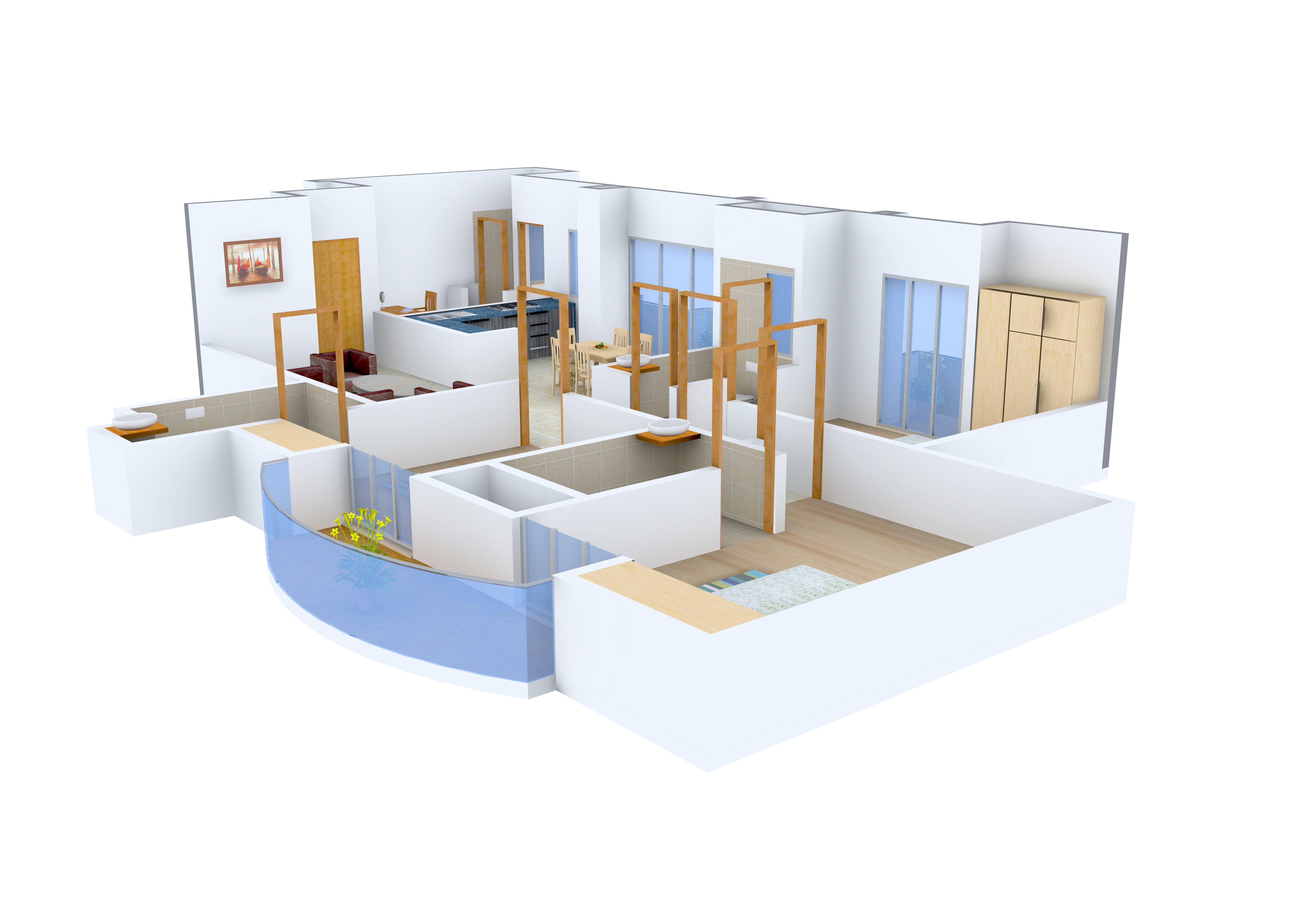 2 BHK,Multistorey Apartment,ADITYA CELEBRITY HOMES,Sector ...