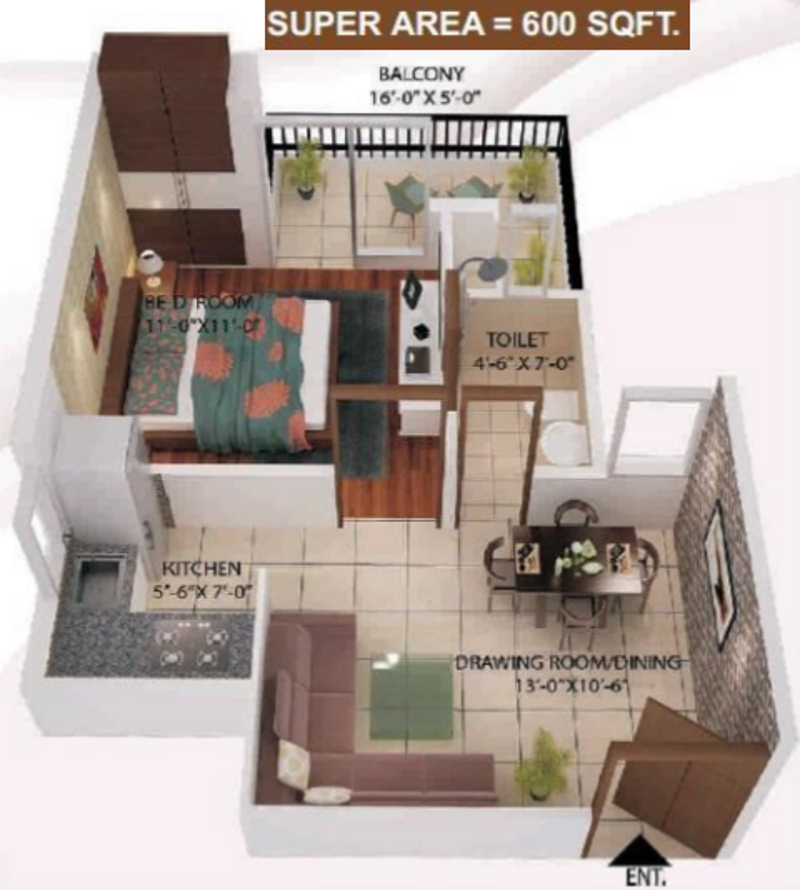 600 Sq Ft House Plans 2 Bedroom In Chennai Design Ideas