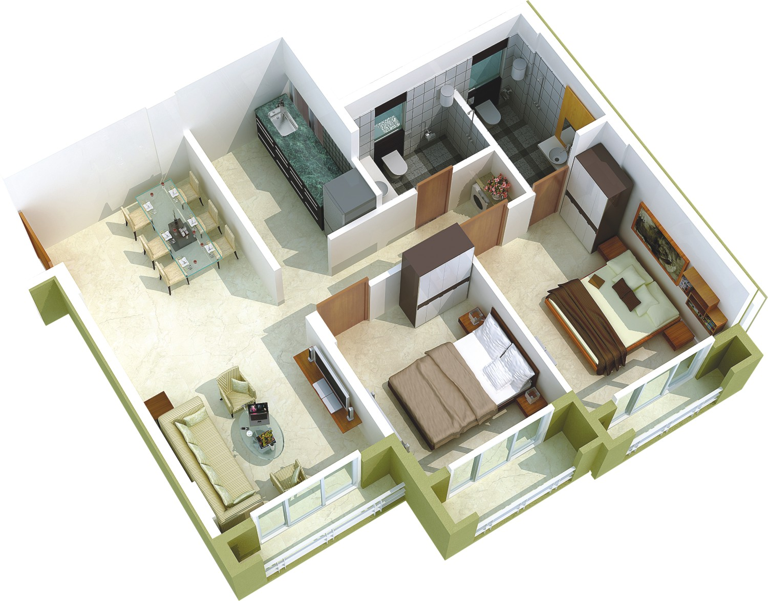 625 Sq Ft 1 Bhk 2t Apartment For Sale In Poddar Housing