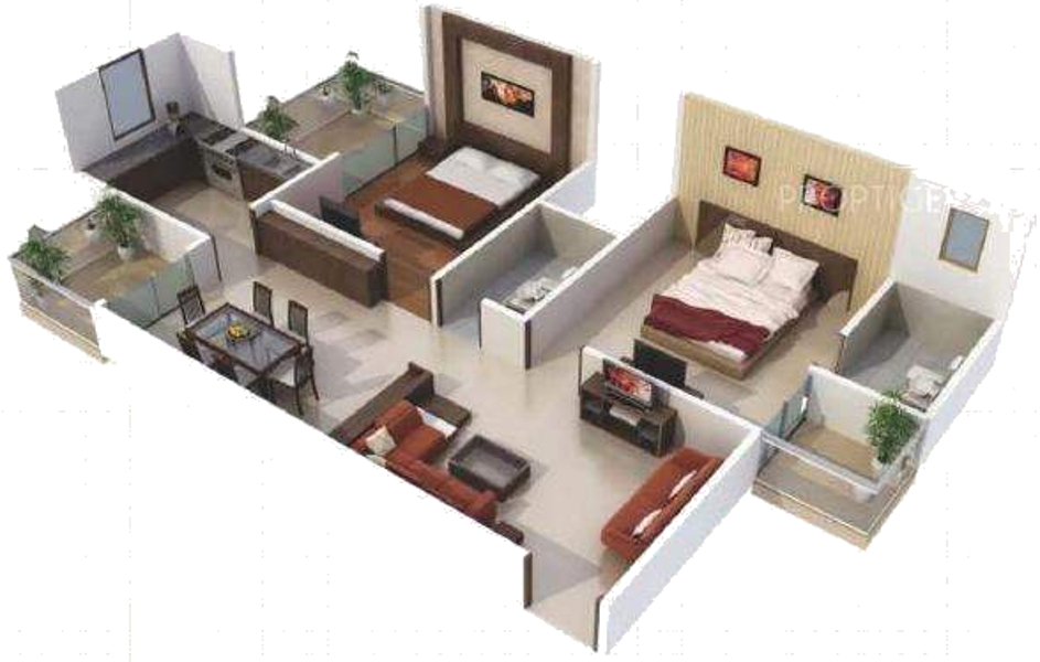 1350 Sq Ft House Plan In India