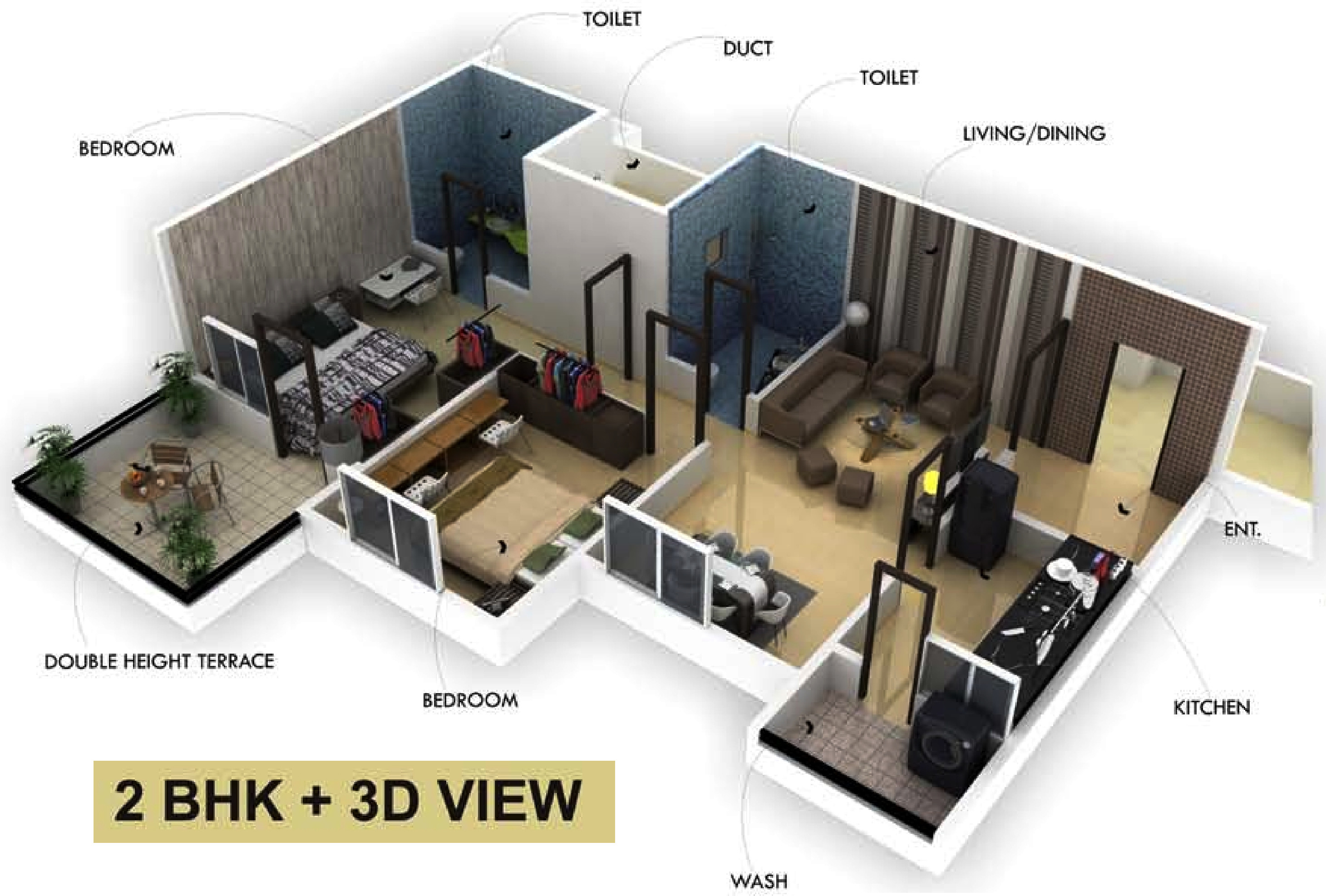 1120 sq ft 2 bhk 2t apartment for sale in sandeep dwellers for 2 bhk flat drawing