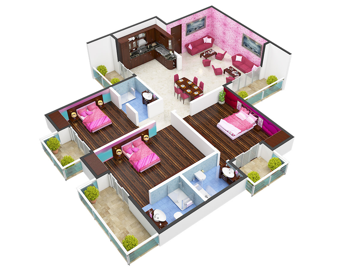 River View Apartments Mayur Vihar 1 by Apex Buildcon India ...