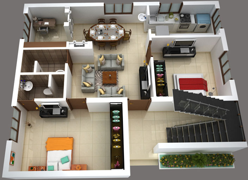 950 Sq Ft 2 Bhk 2t Apartment For Sale In S G Builders
