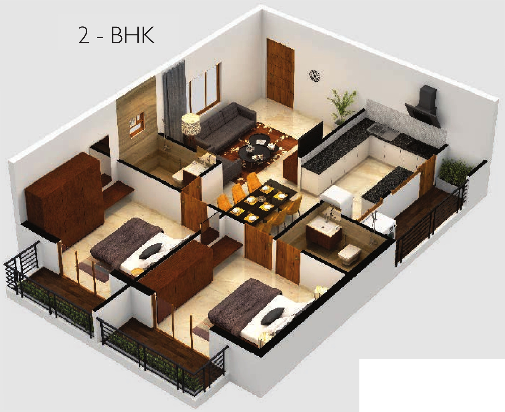 1140 sq ft 2 bhk 2t apartment for sale in candeur rise for 2bhk plan homes