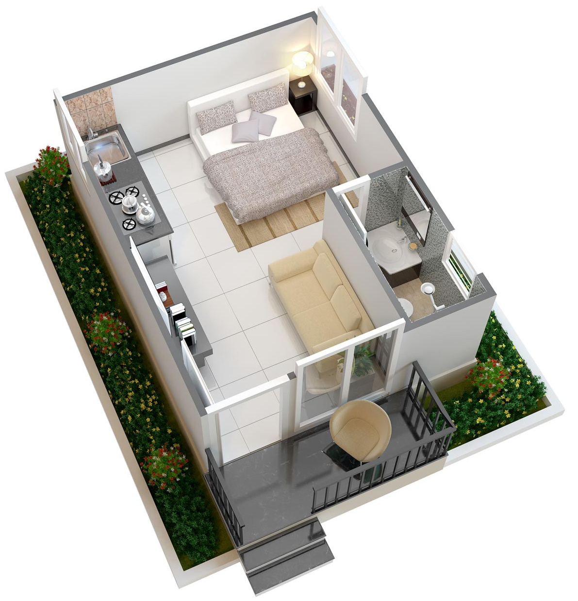 250 sq ft 1 bhk 1t villa for sale in manju groups hrudhya for 250 square foot apartment floor plan