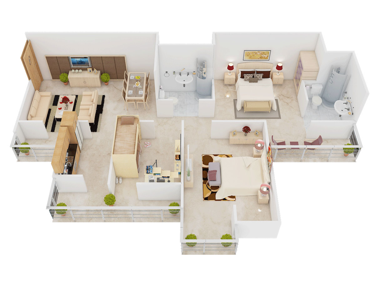 1150 Sq Ft 2 Bhk 2t Apartment For Sale In Supertech