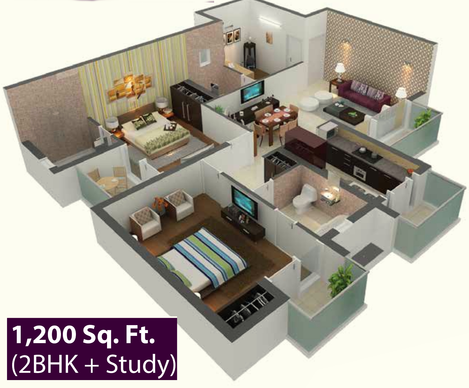 1200 sq ft 2 bhk 2t apartment for sale in the visava group House plans indian style in 1200 sq ft
