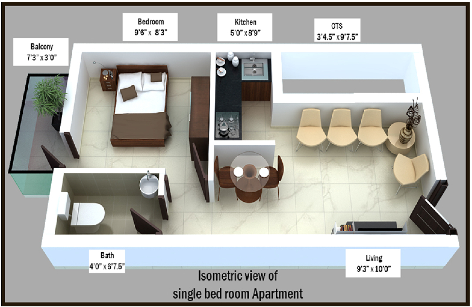 450 Sq Ft House Floor Plan Thefloors Co