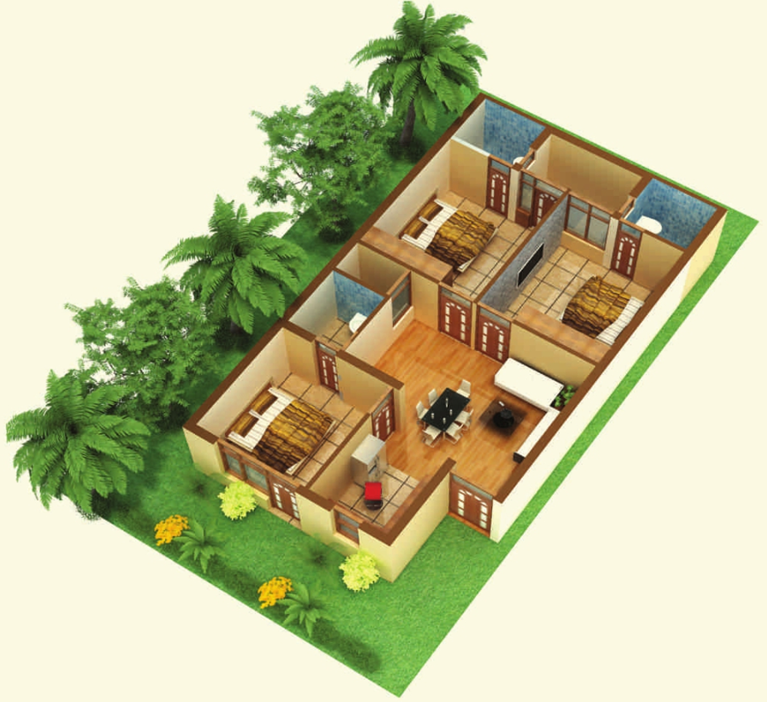 Primary Arcadia Green Home Ii In Sector 125 Mohali Mohali Price Location Map Floor Plan