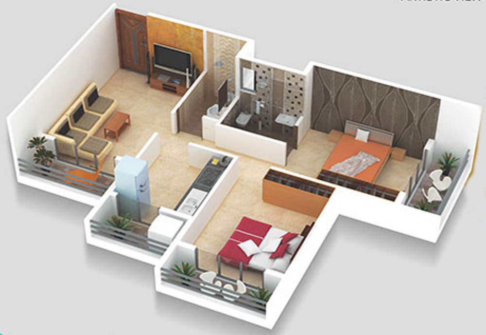 840 sq ft 2 bhk 2t apartment for sale in metro developers for 840 square feet