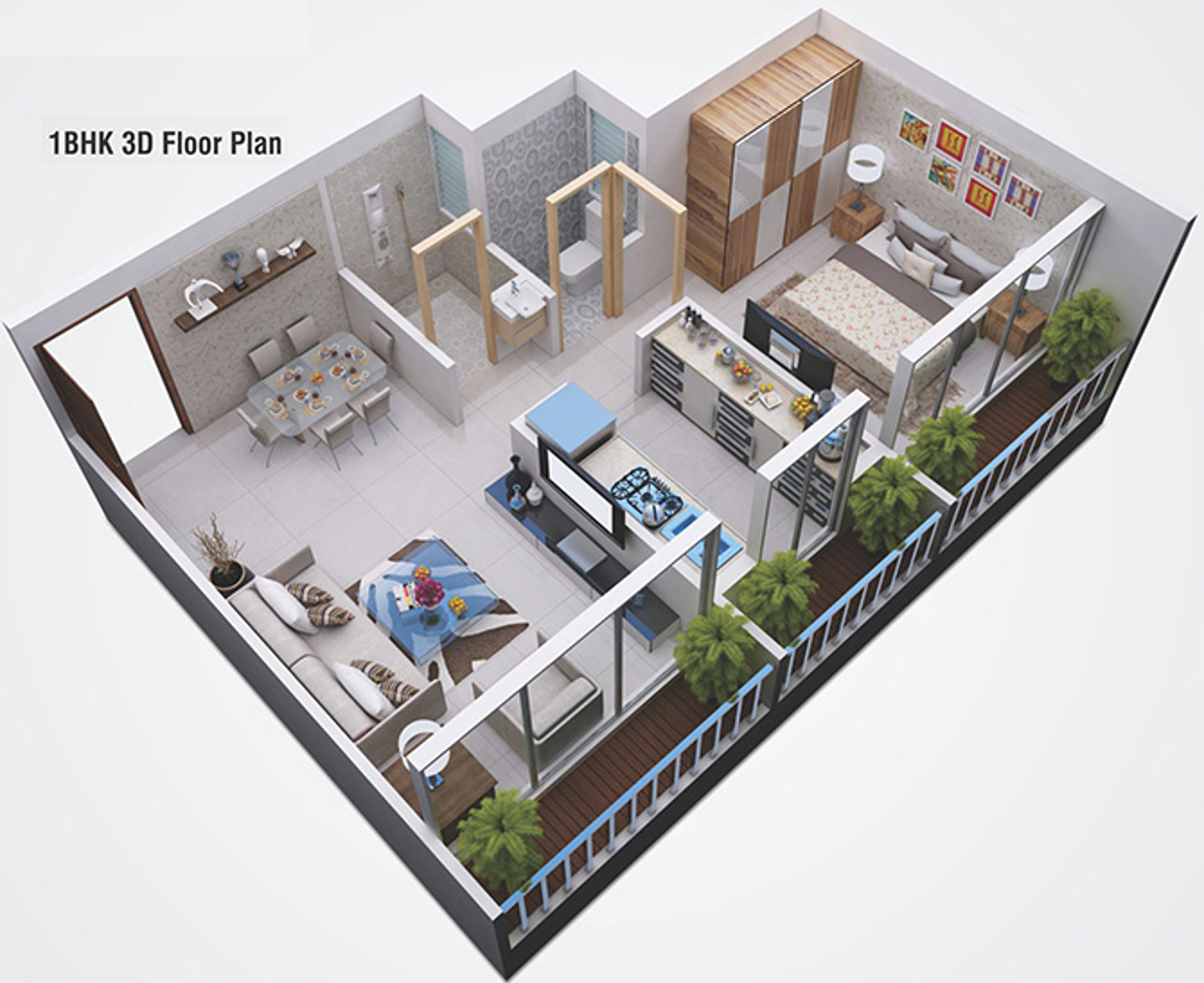 650 Sq Ft 1 Bhk 1t Apartment For Sale In Yushan Realty
