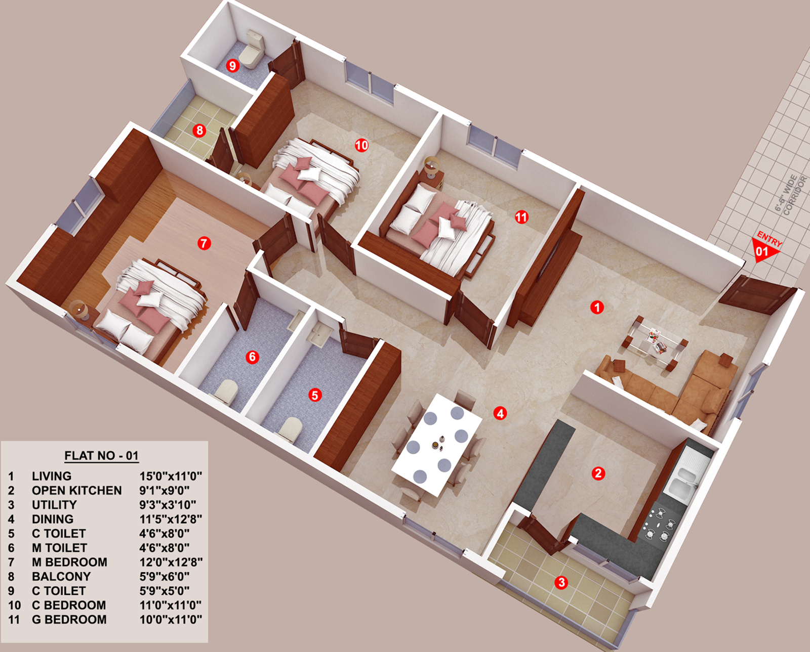 Star homes infratech sandhya in moti nagar hyderabad for Star home designs