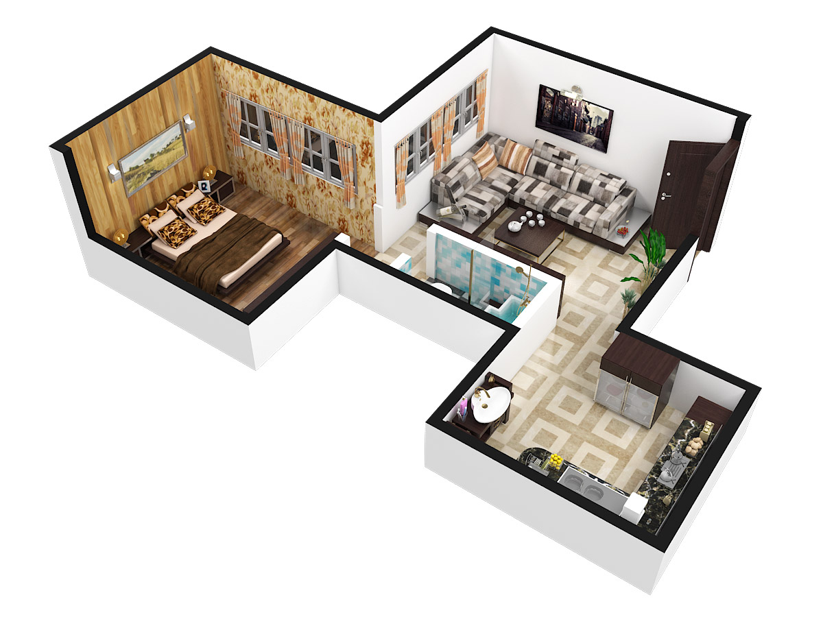 640 Sq Ft 1 Bhk 1t Apartment For Sale In Savvy