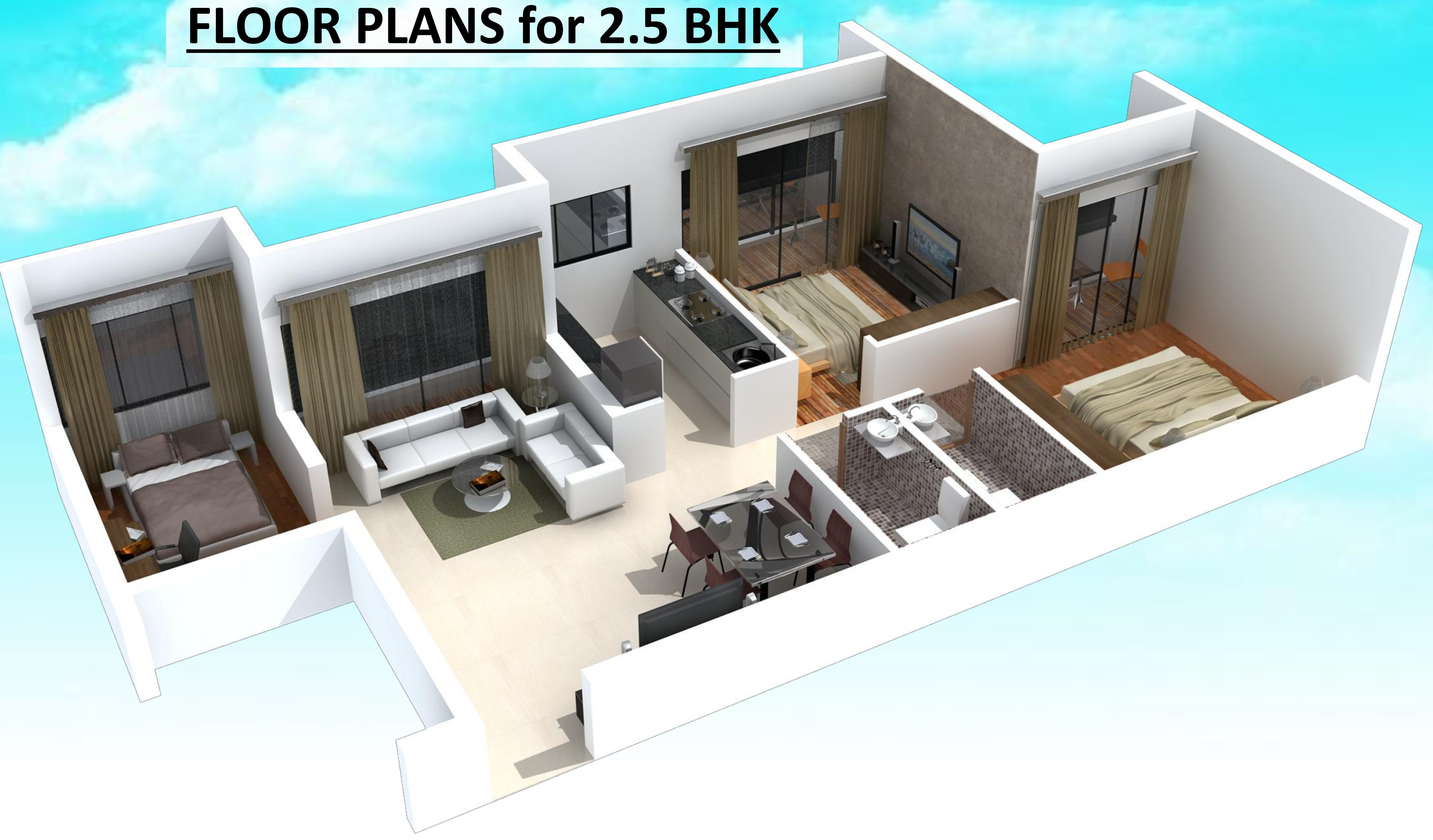 1055 sq ft 2 bhk 2t apartment for sale in space india balaji