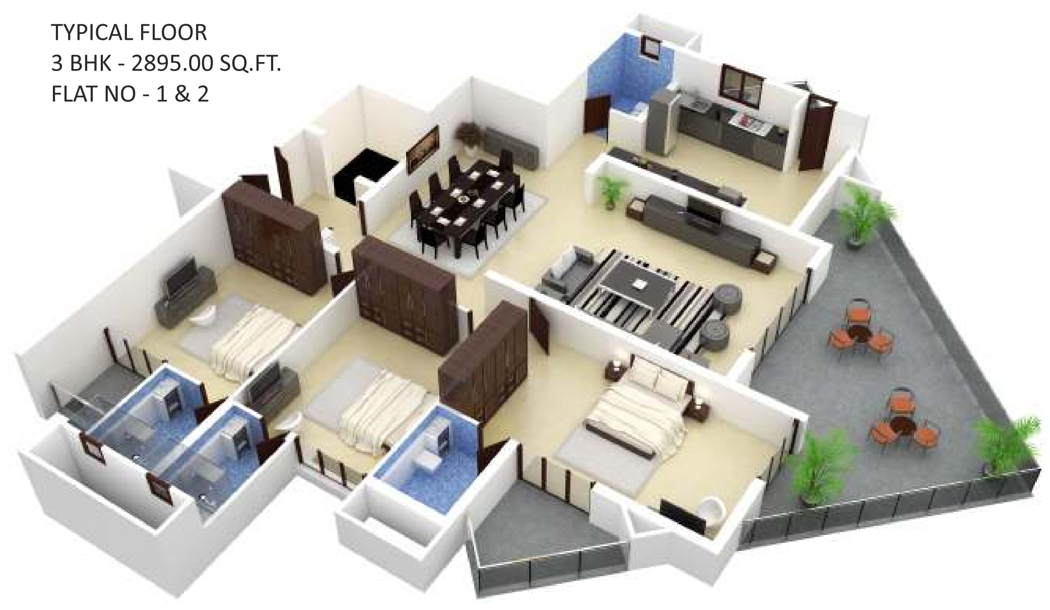 5400 sq ft 5 bhk 6t apartment for sale in land trades atlantis