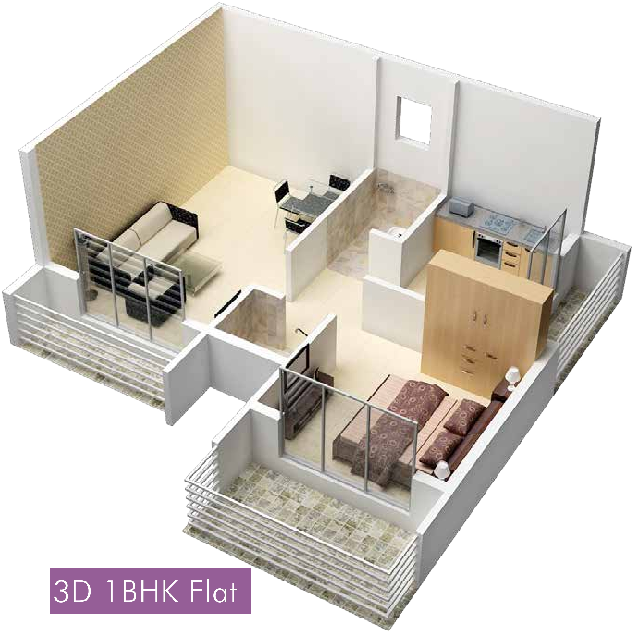 630 sq ft 1 bhk 1t apartment for sale in raj group india for 1 bhk floor plans india