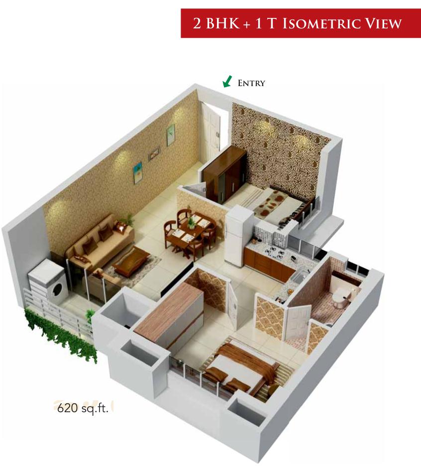 620 sq ft 2 bhk 1t apartment for sale in kg builders signature city mogappair chennai. Black Bedroom Furniture Sets. Home Design Ideas