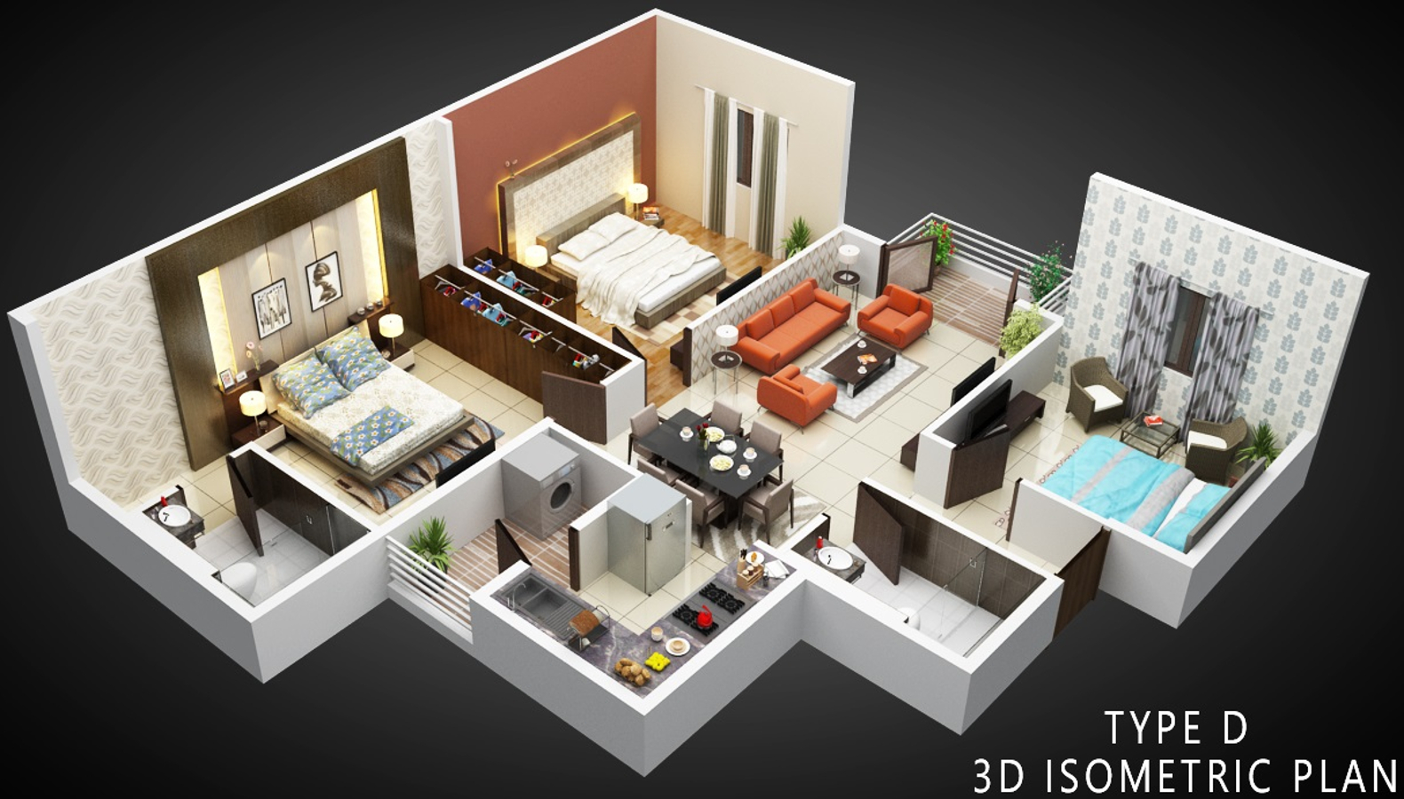 1632 sq ft 3 bhk 3t apartment for sale in sbr horizon
