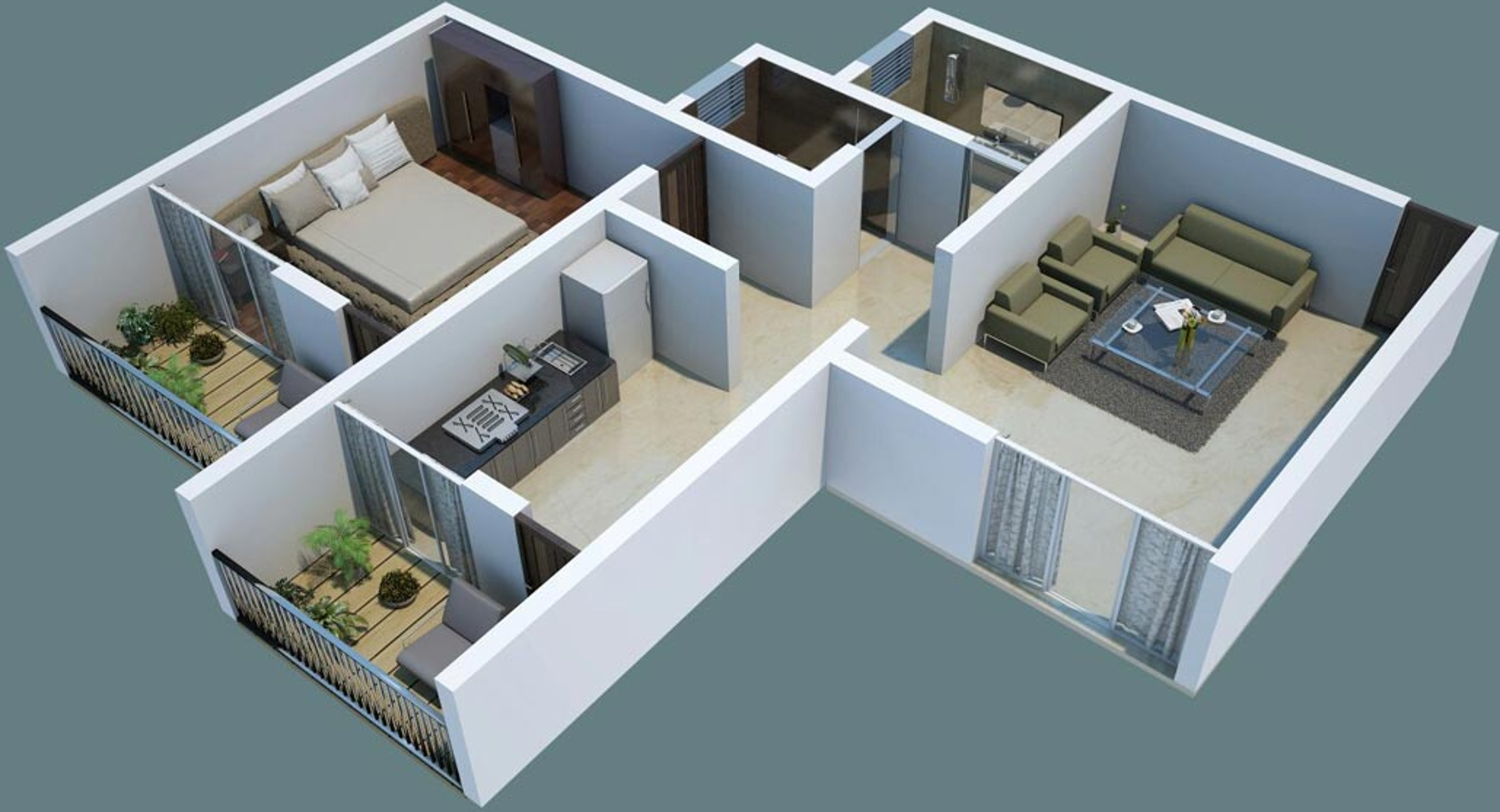 550 Sq Ft House 550 Sq Ft 1 Bhk 1t Apartment For Sale In Dwell360 Kohinoor