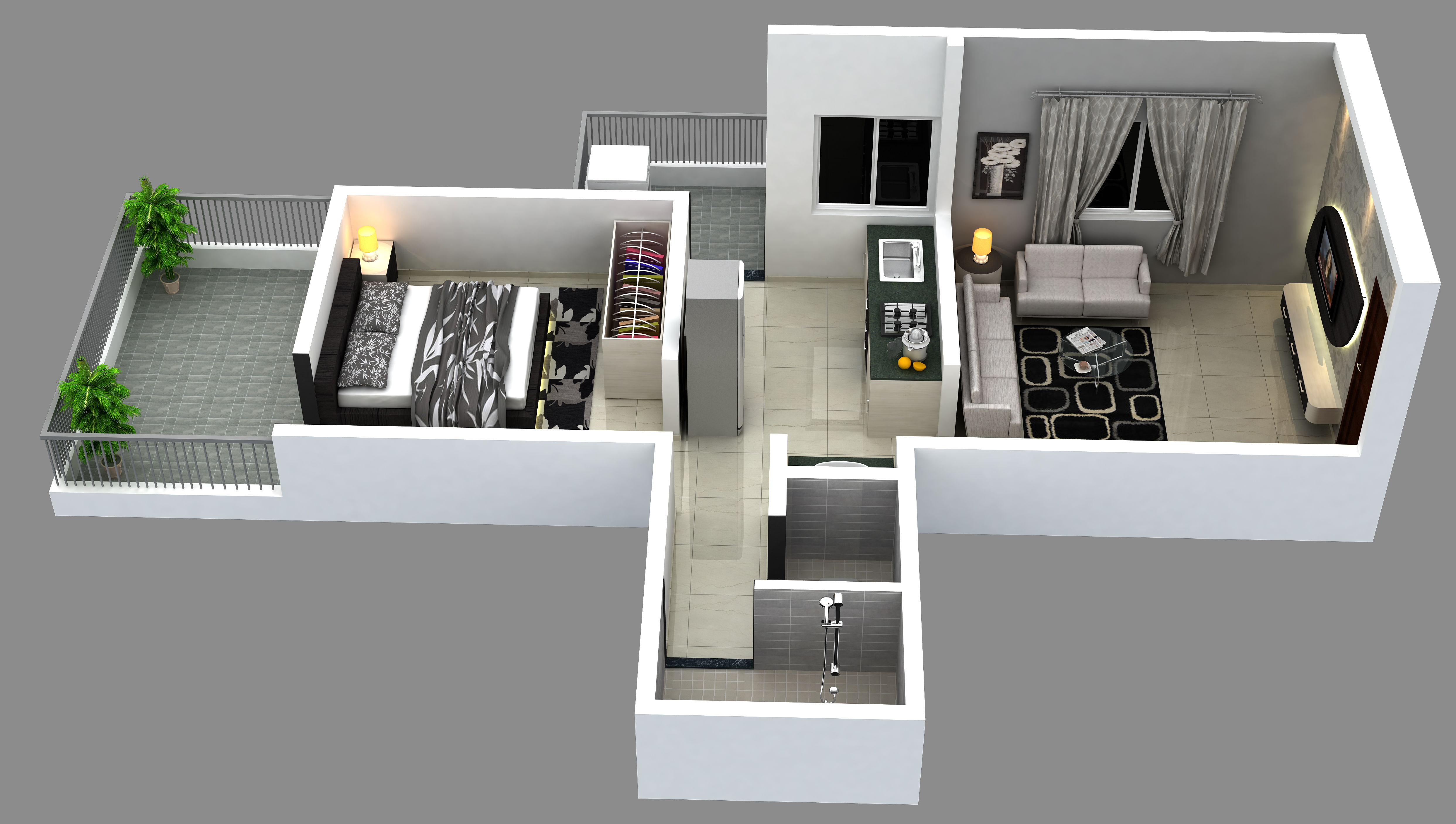 100 Home Design For 650 Sq Ft Download 2 Story