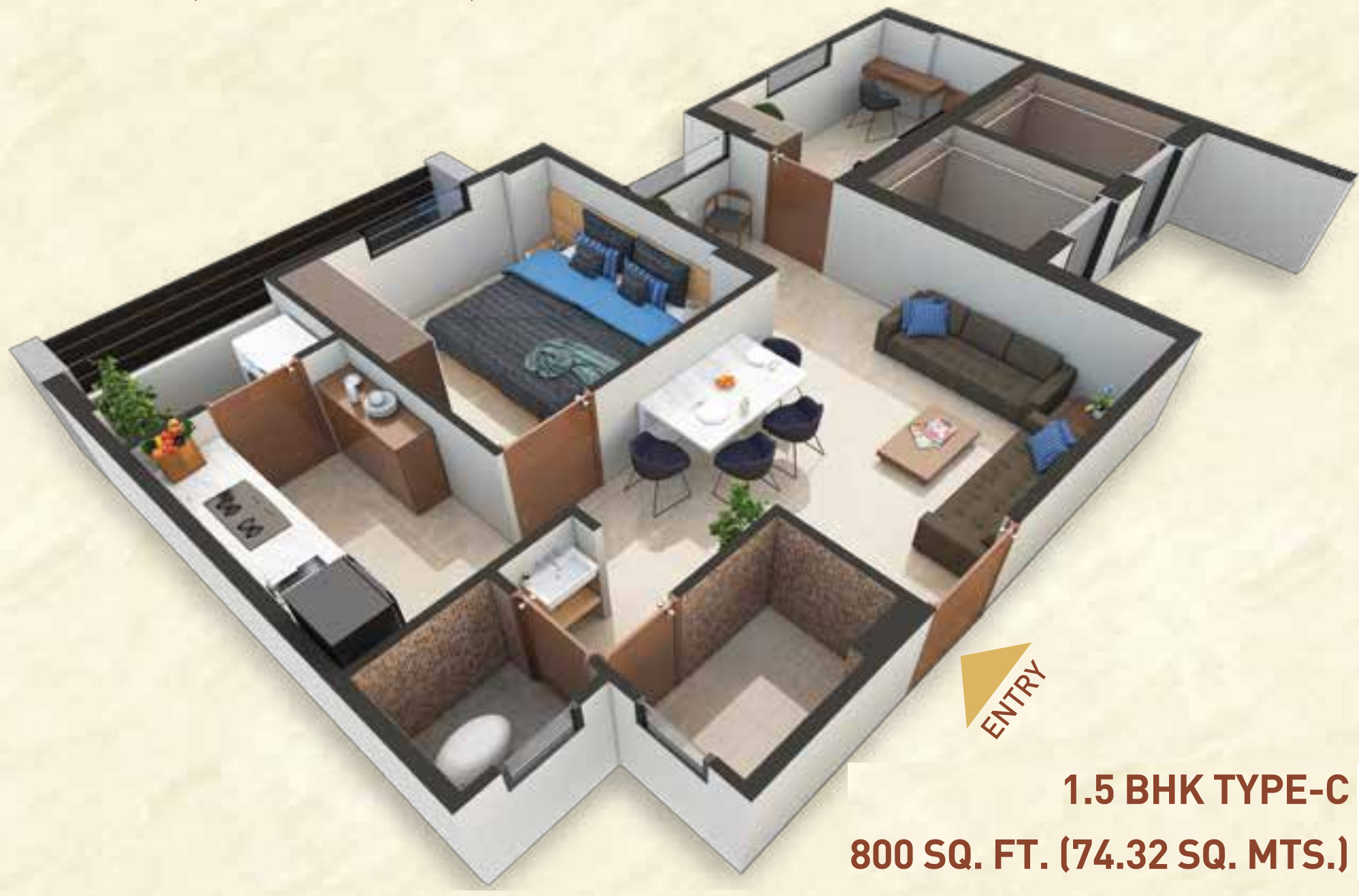 Awesome 800 Sq Ft Apartment Images - Interior Design Ideas ...