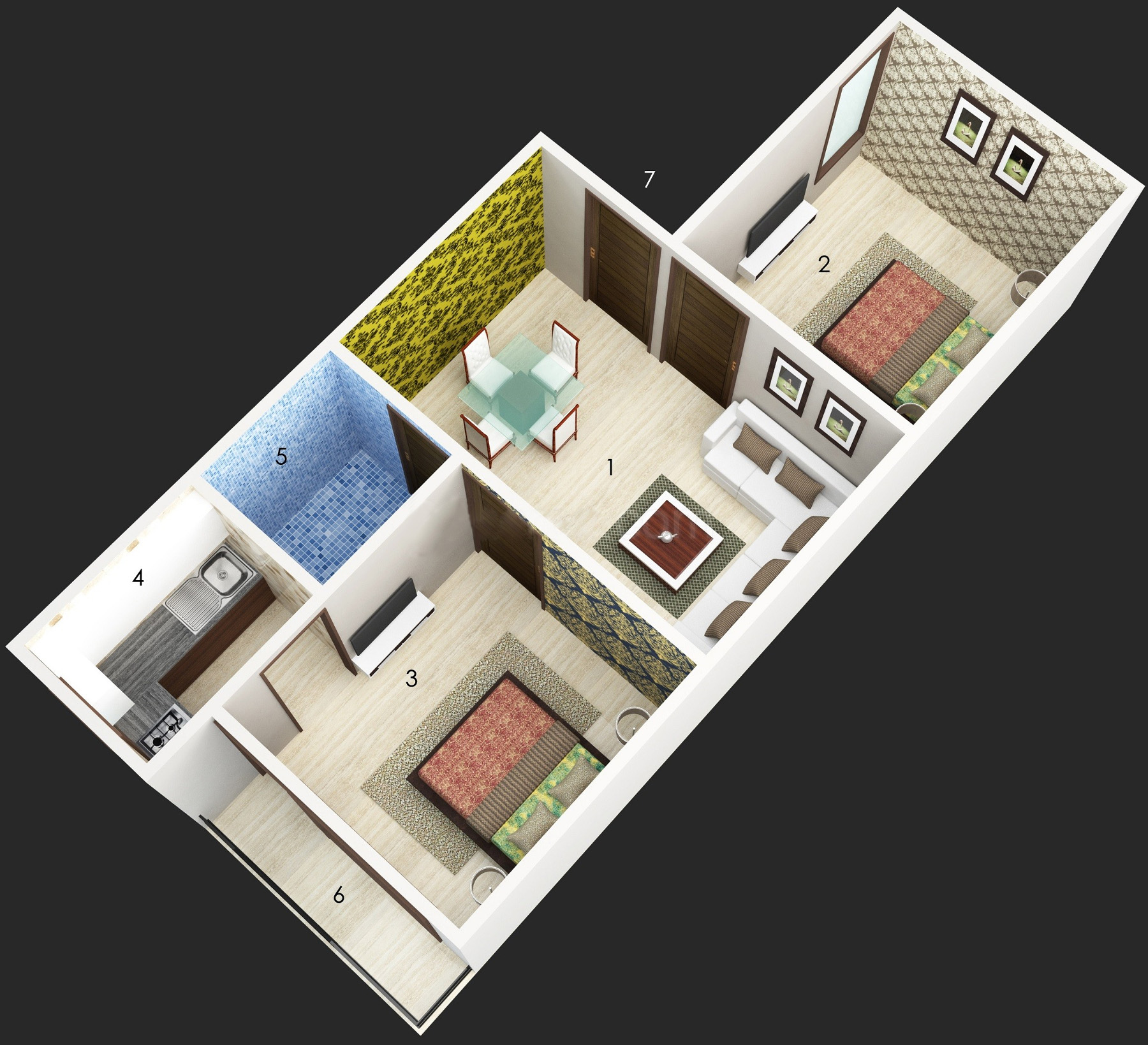 500 sq ft 2 bhk 2t apartment for sale in bharat homes for 500 sq ft house cost