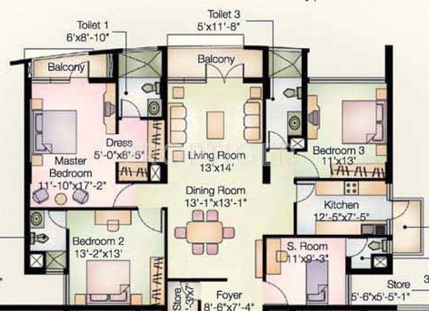 Reputed Jasminium Apartment In Sector 45 Gurgaon Price