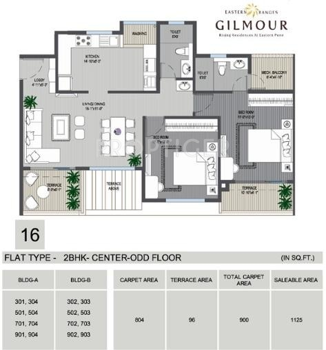 1125 sq ft 2 bhk 2t apartment for sale in phadnis eastern for 1125 sq ft floor plan