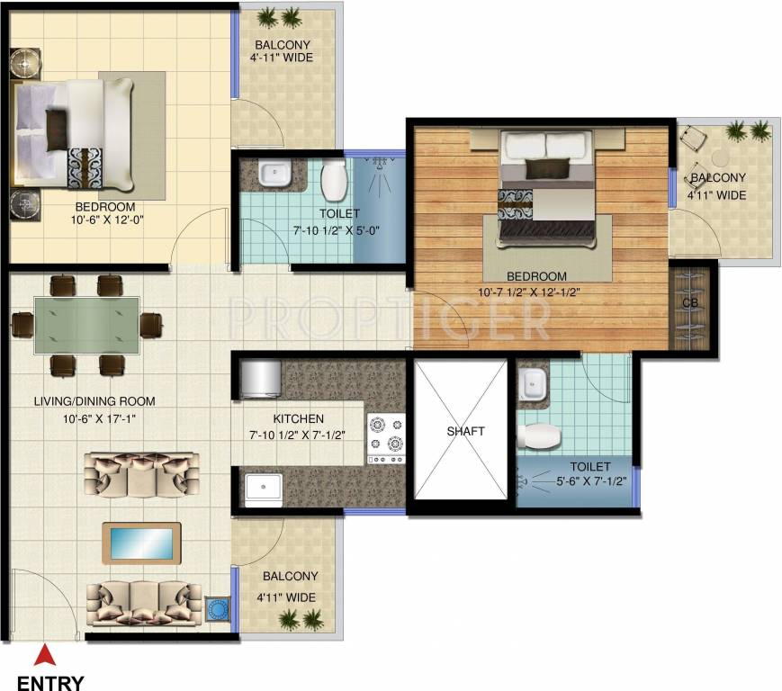 1000 sq ft 2 bhk 2t apartments in amrapali verona for 1000 sq ft apartment plans