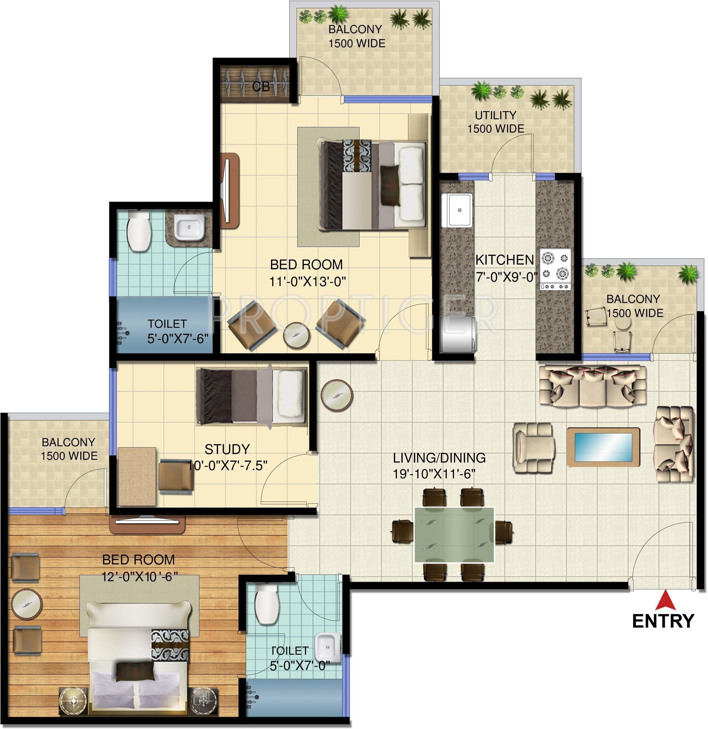 Amrapali Verona Heights In Techzone 4 Noida Price