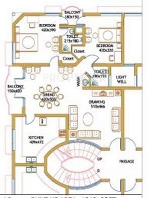 Aswathy aswathy gardens in kazhakkoottam trivandrum price location map floor plan reviews for Cost to paint 1500 sq ft house interior