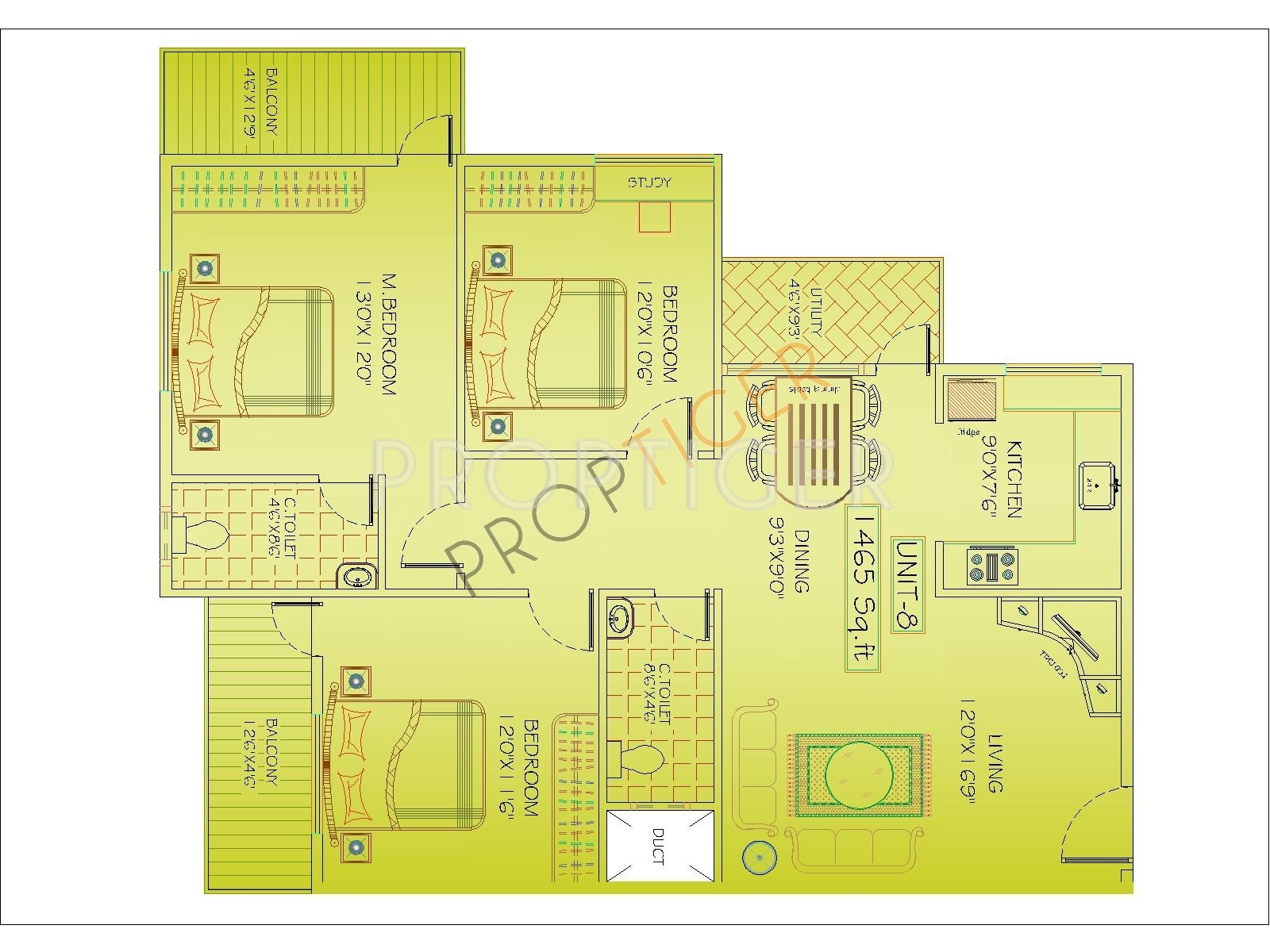 1100 sq ft 2 bhk 2t apartment for sale in mahaghar kings for 1100 sq ft apartment floor plan